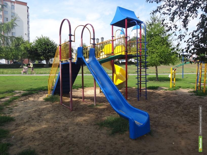 За два года в Тамбове появилось 62 детских площадки