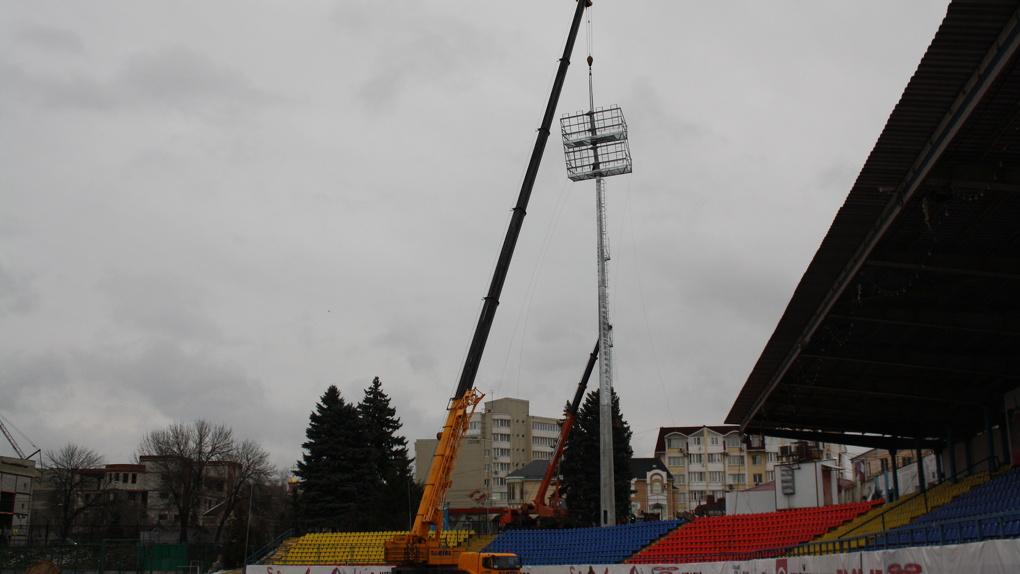 На «Спартаке» поставят прожектора похожие на те, что используют на стадионах для Чемпионата Мира-2018