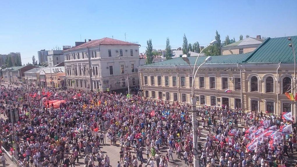 Более 19 тысяч тамбовчан приняли участие в праздничных мероприятиях в День Победы