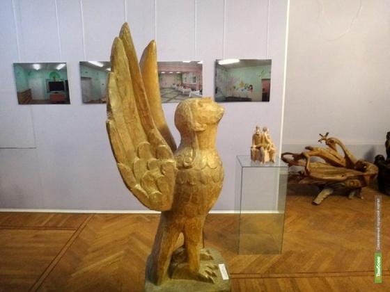 Скульпторы из Тамбова показали свои творения в Воронеже