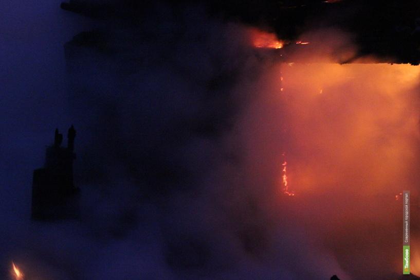 В Бондарском районе сгорел мужчина