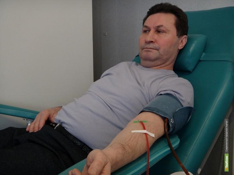 Тамбовские госслужащие поделились своей кровью