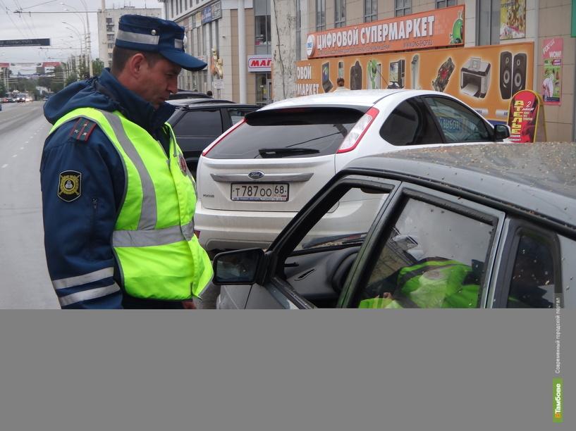 Автоинспекторы Тамбова расставили «сети» на пьяных водителей