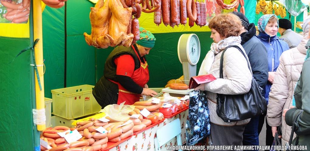 Тамбовчане закупились на Покровской ярмарке более чем на 100 млн рублей
