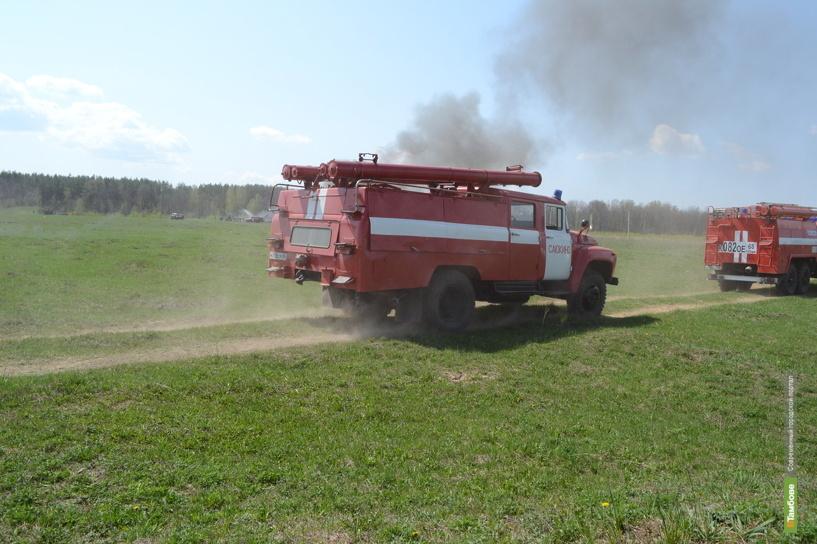 На Тамбовщине появилась новая пожарно-химическая станция