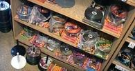 На Центральном рынке ликвидировали павильон с «пиратскими» дисками