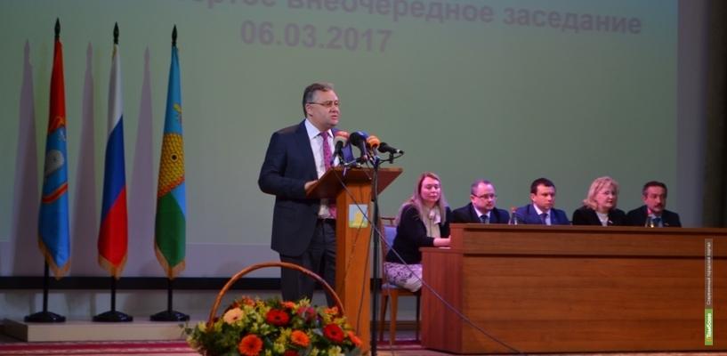 Сергей Чеботарёв попал в число лидеров национального рейтинга мэров