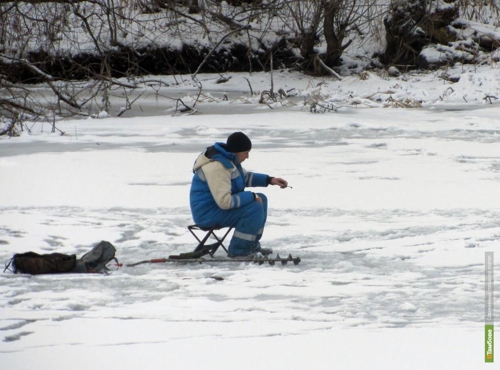 Лед на водоемах Тамбовщины не безопасен!