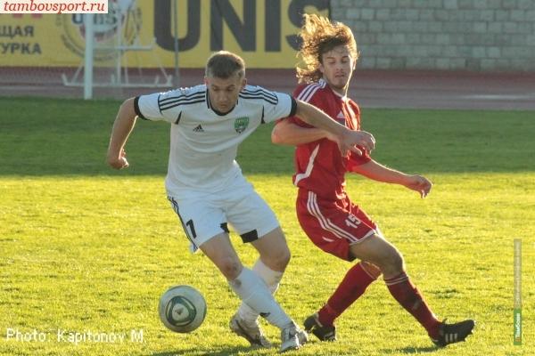 Городские власти выделили футболистам Тамбова 10 миллионов рублей