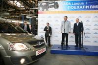 Путин дал старт производству «Лады Ларгус»