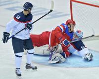 Сборная России по хоккею с трудом обыграла команду Словакии на Олимпиаде