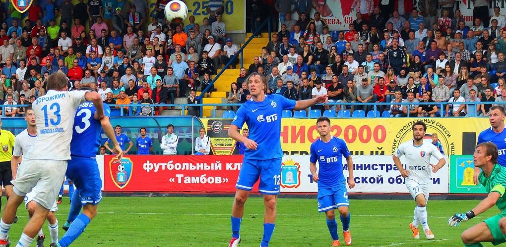 ФК «Тамбов» проведет четыре контрольных матча на сборе в Крымске