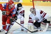 Российская сборная по хоккею разгромила братьев-латышей