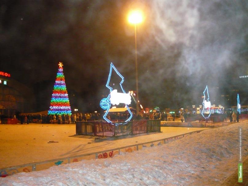 Новогодние гуляния захватят Тамбов на 3 недели