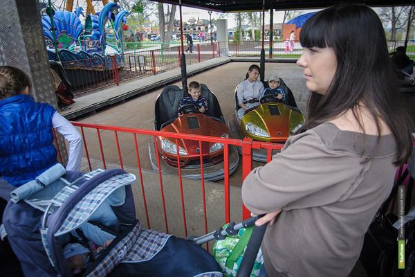 Обновленный парк культуры и отдыха открыл свои двери для горожан в новом сезоне