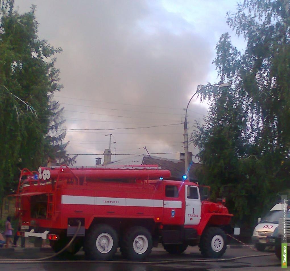 Пожары оставили тамбовчан без крыши над головой