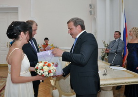 В Тамбове накануне Дня семьи, любви и верности свой брак зарегистрируют 20 пар