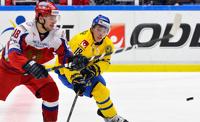 Сборная России по хоккею одержала победу над шведами
