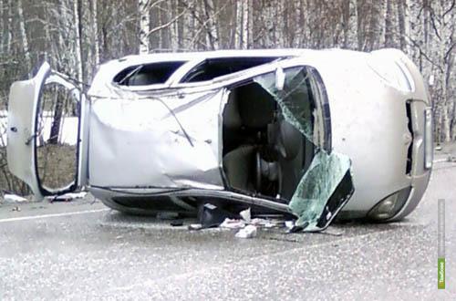 Тамбовские автолюбители устроили утром 10 аварий
