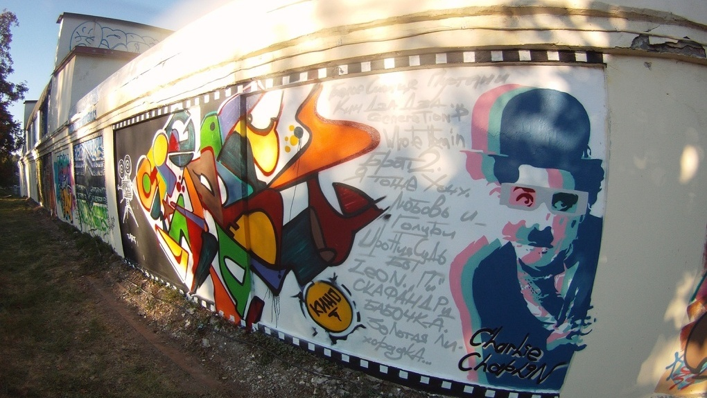 Половина тамбовчан против граффити. Но если красиво, то можно