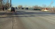 На Рассказовском шоссе машина съехала с дороги и врезалась в столб