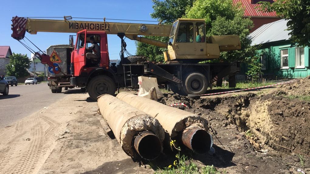 Ограничат подачу горячей воды: энергетики заменят участок теплосети на улице Пролетарской в Тамбове