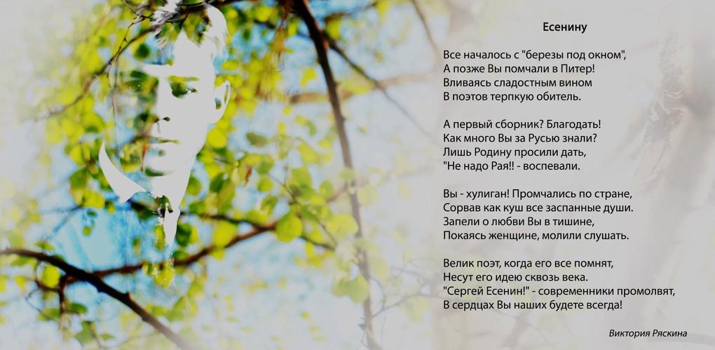 Для тамбовчан организовали выставку «Поэзия в лицах»