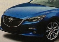 Японцы рассекретили фото новой «трешки» Mazda