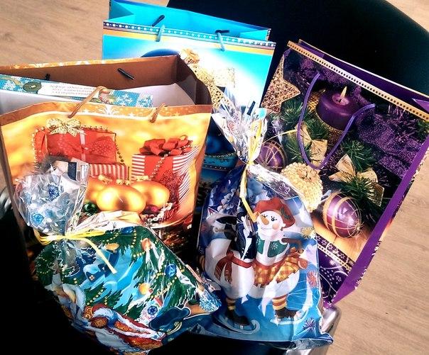 Тамбовчане собрали подарки для одиноких пожилых людей и инвалидов