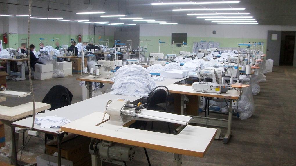 Тамбовские заключенные шьют детскую одежду. По 4 тысячи изделий в день