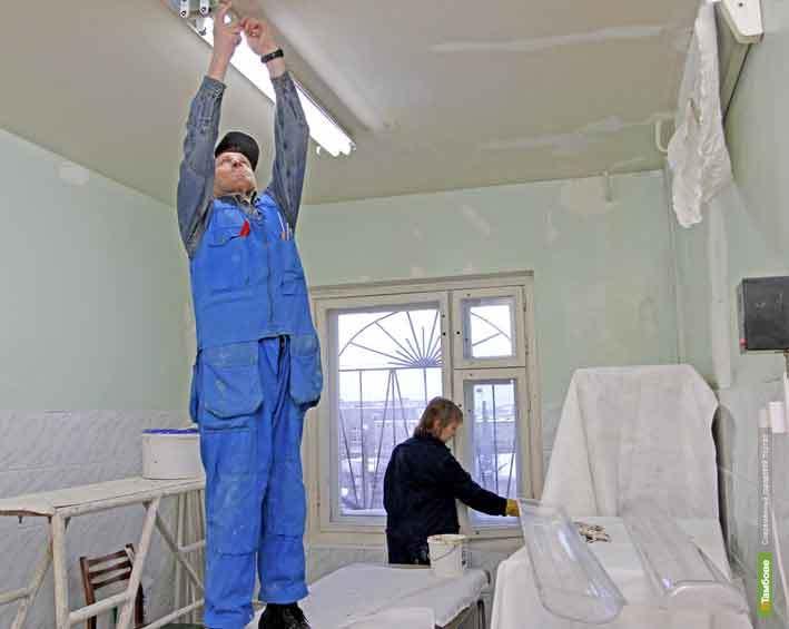 Тамбовские власти отремонтируют детскую поликлинику
