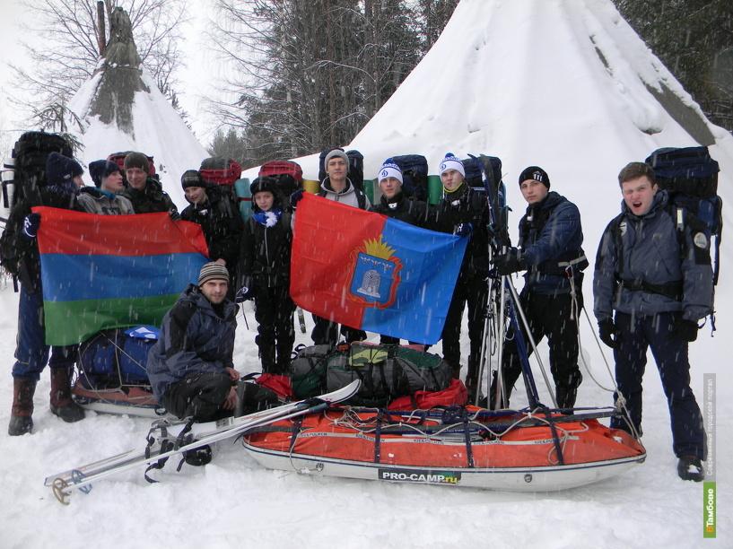 Тамбовский кадет водрузит на Северном полюсе флаг нашей области
