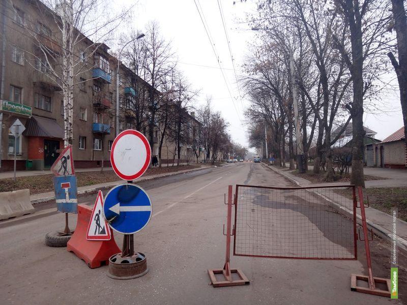 Дорожное полотно на улице Гастелло до сих пор не восстановили