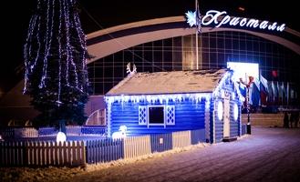 Новогодние украшения начнут убирать с улиц Тамбова с 16 января