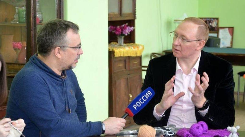 В эфире «России 1» покажут рассказовские носки. Съемочная группа наведалась в столицу вязания
