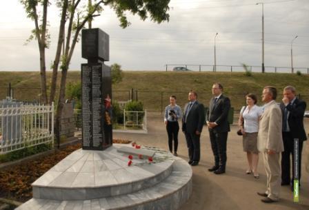 Памятник люксембуржцам ВТамбове поставят на могиле немцев
