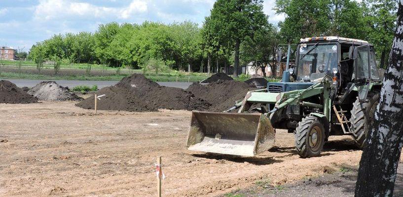В Староюрьево частный инвестор построит многофункциональную спортплощадку
