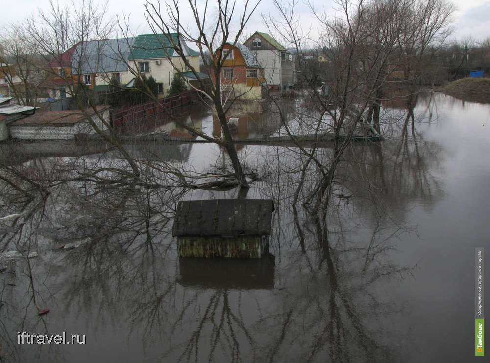 Александр Иванов: На байдарке через парк или Тамбовский потоп 2013