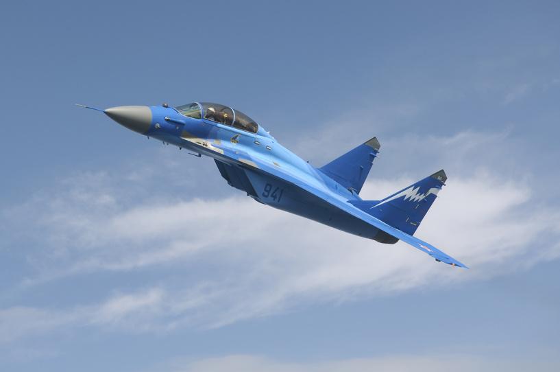 Под Астраханью разбился истребитель МиГ-29, пилот погиб