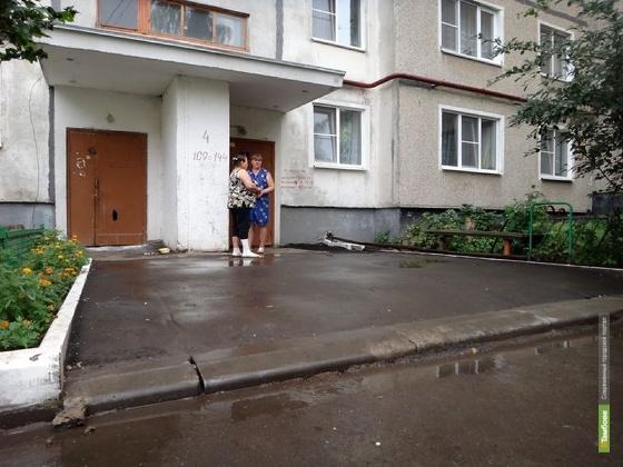Разрытия в тамбовских дворах заделают по ГОСТу