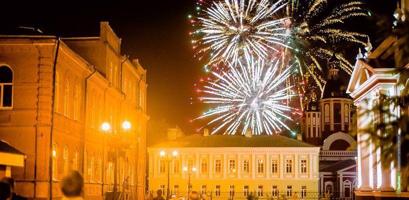 В Тамбове в День города запустят два фейерверка