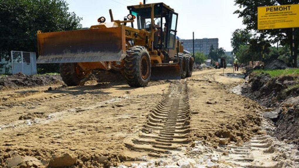 В Тамбове продолжается ремонт периферийных дорог