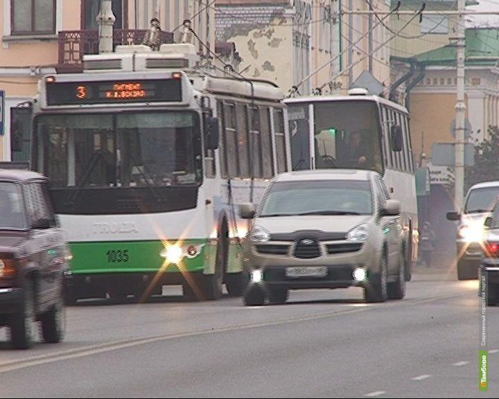 В Тамбове от Районной до Сенько пустят троллейбусы