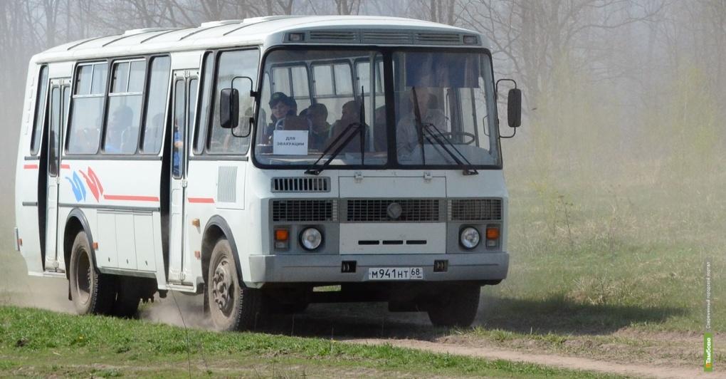За тамбовскими автобусами следят через спутник