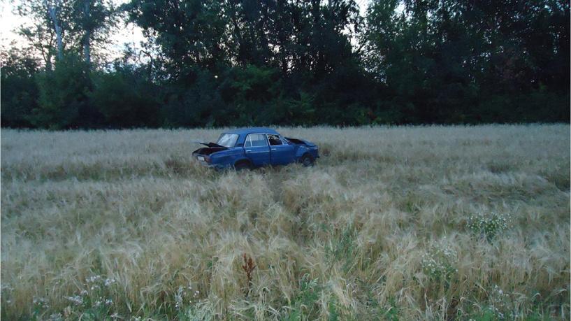 Под Инжавино автомобилист уснул за рулем и попал в ДТП