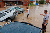 На побережье Кубани снова надвигаются дожди