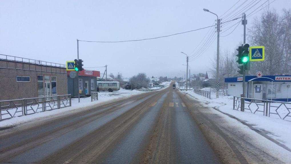 В Донском на светофоре сбили пешехода: водитель с места ДТП скрылся