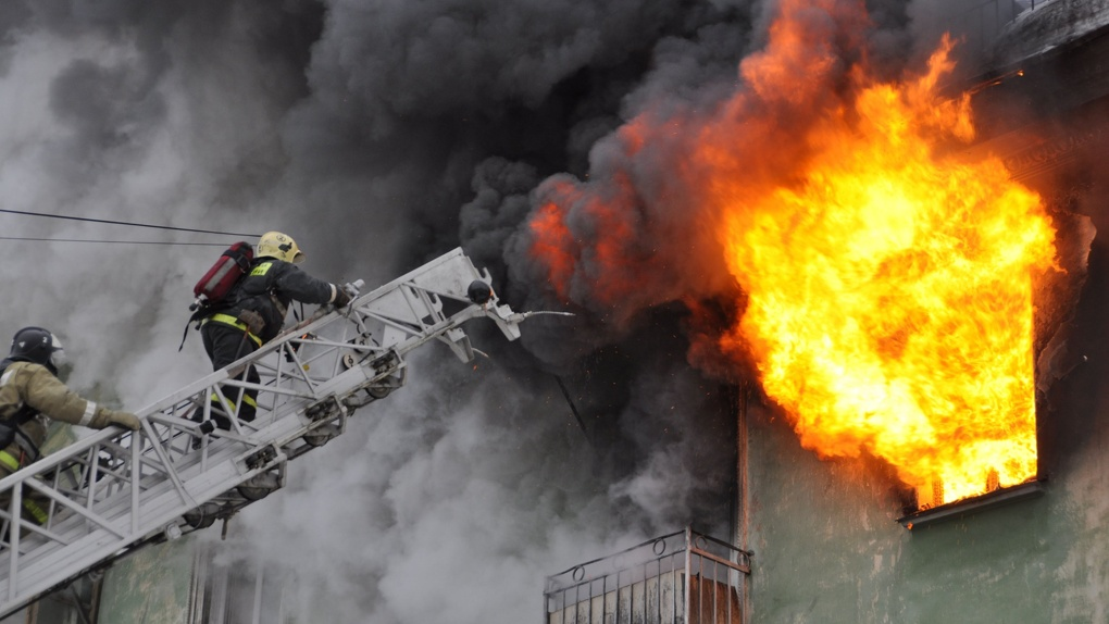 В пожарах из-за использования пиротехники никто не погиб