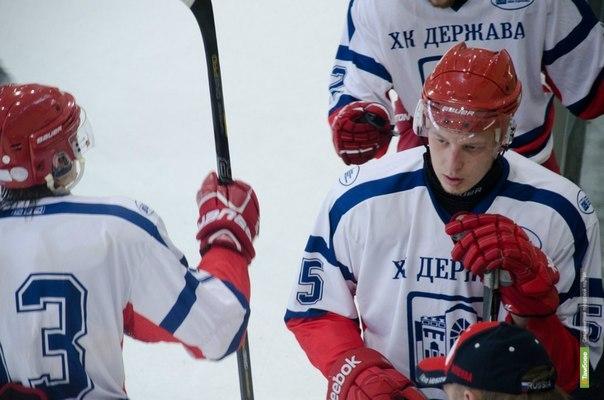 «Держава» обыграла московских хоккеистов
