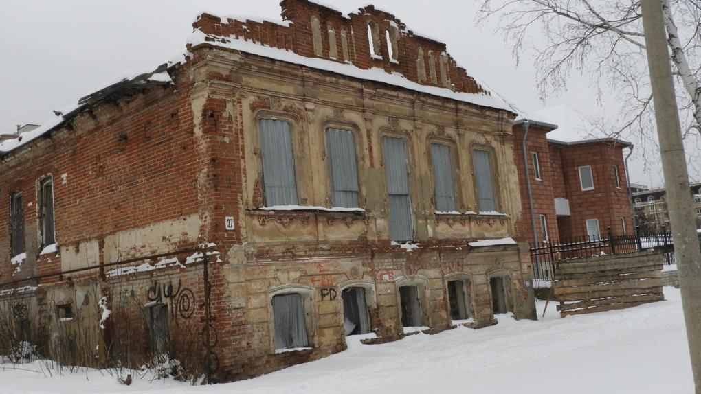 Дом в Тамбове, в котором жил Сергеев-Ценский, необходимо срочно ремонтировать